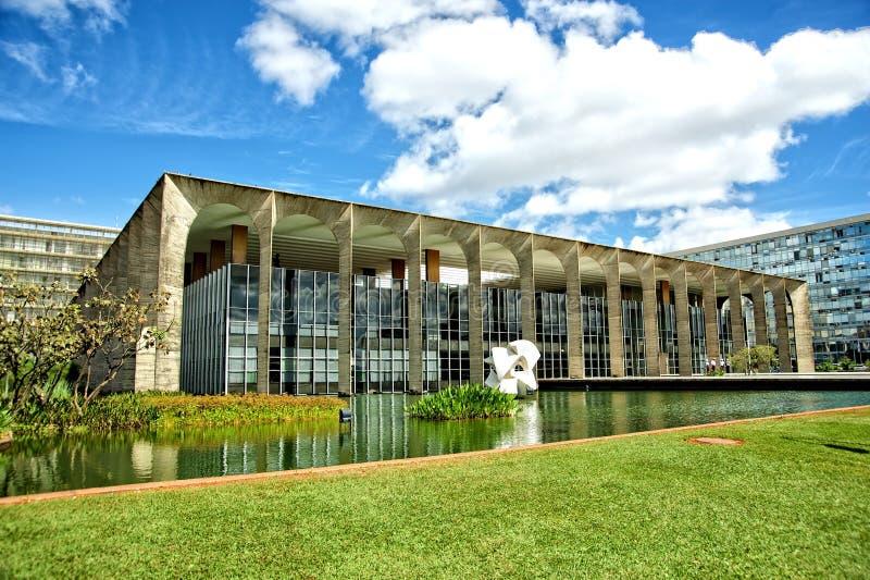 Brasilien departement av yttre förbindelse arkivbild