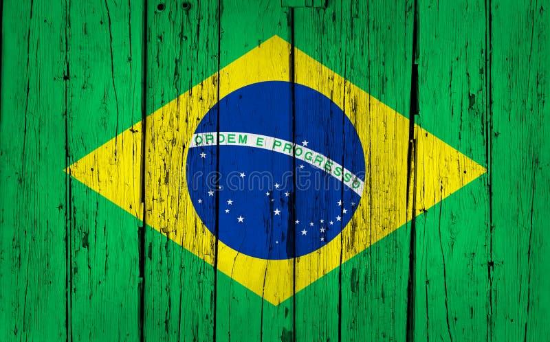 Brasilien-Holz-Hintergrund lizenzfreies stockfoto