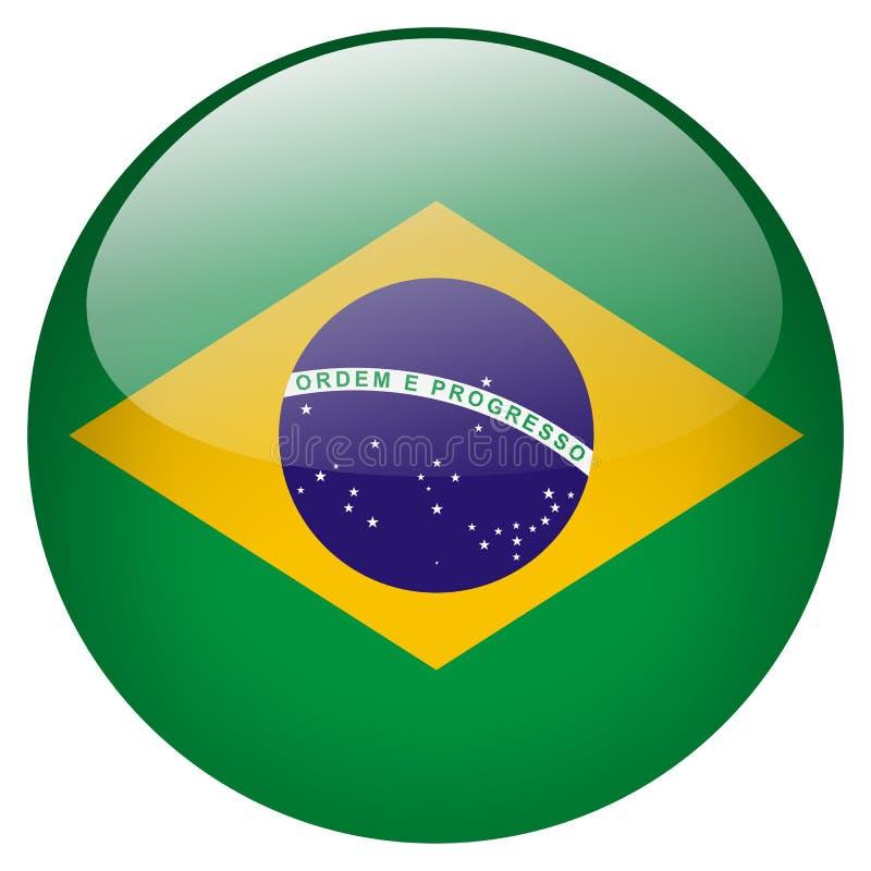 Brasilien knapp vektor illustrationer