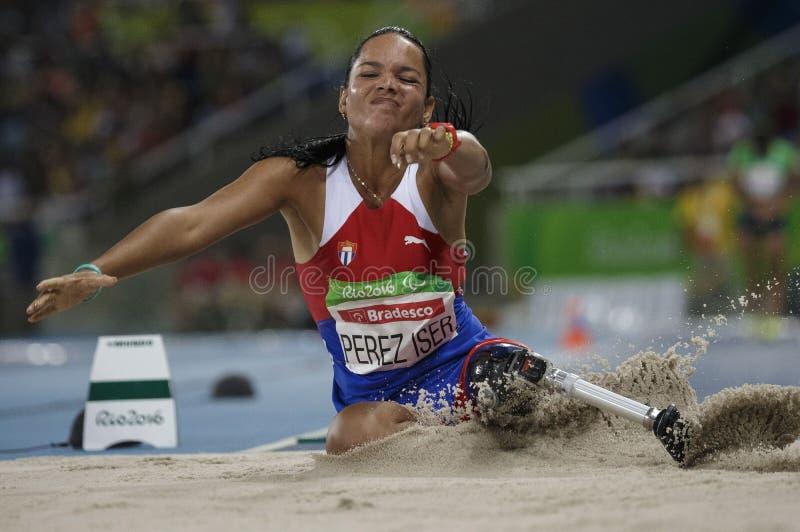 Brasilien - Rio De Janeiro - Paralympic lekmaracanà 2016 royaltyfri fotografi