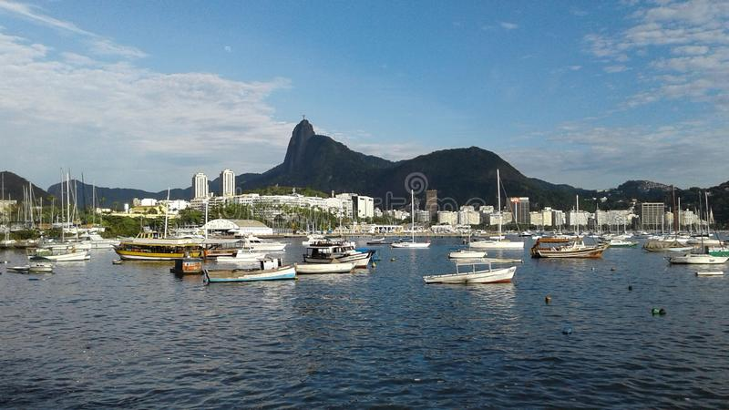 Brasilien - Rio de Janeiro - Urca arkivfoton