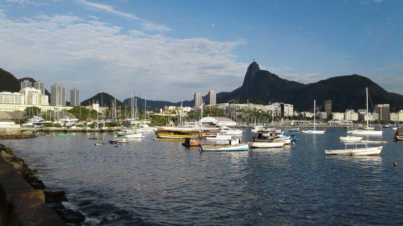 Brasilien - Rio de Janeiro - Urca royaltyfri fotografi