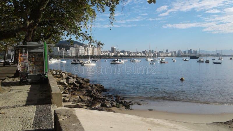 Brasilien - Rio de Janeiro - Urca royaltyfria bilder