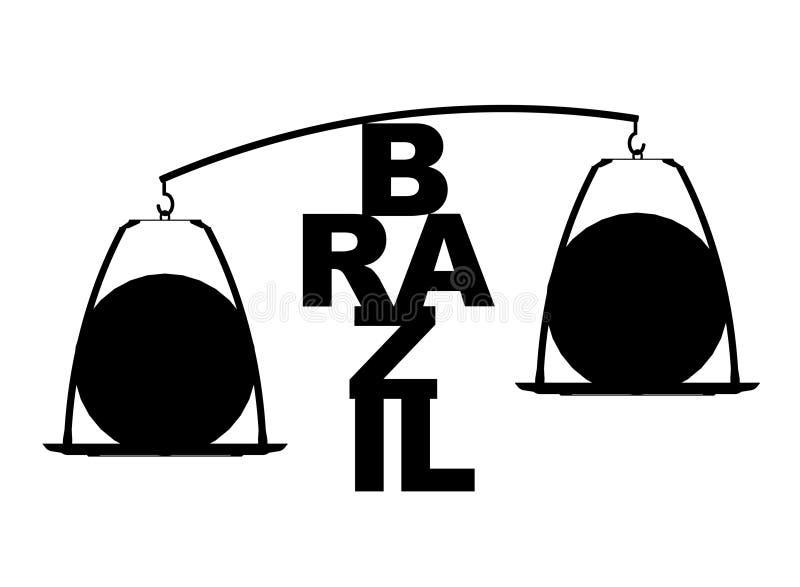 Brasilien världscup 2014 vektor illustrationer