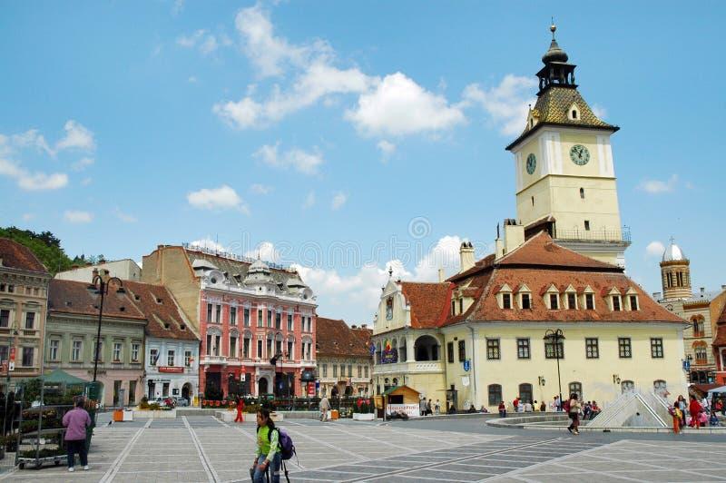 brasov庆祝罗马尼亚 免版税图库摄影