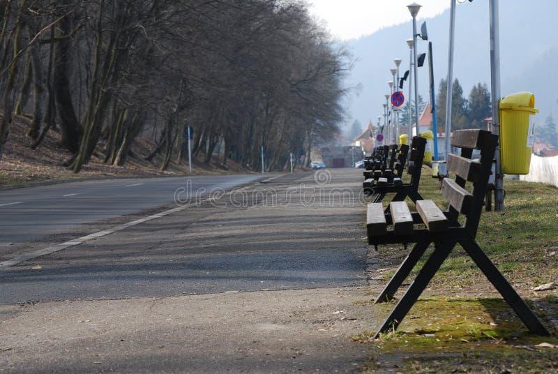 brasov街道 免版税库存图片