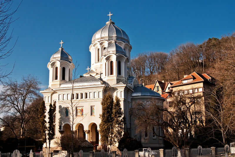 Download Brasov εκκλησία στοκ εικόνα. εικόνα από ημέρα, φράκτης - 13177767