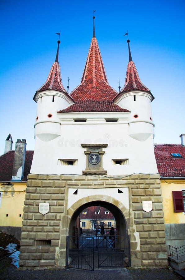 Brasov - πύλη Ecaterina στοκ φωτογραφίες