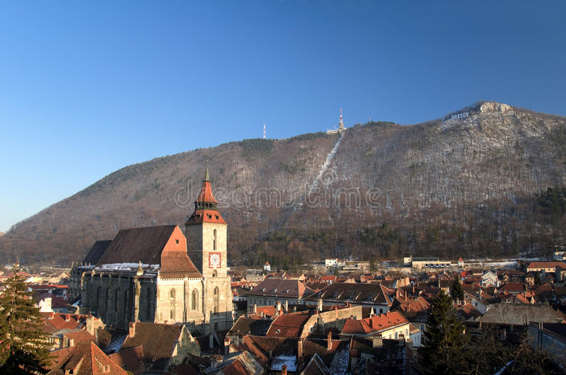 Brasov - Ρουμανία στοκ εικόνες με δικαίωμα ελεύθερης χρήσης