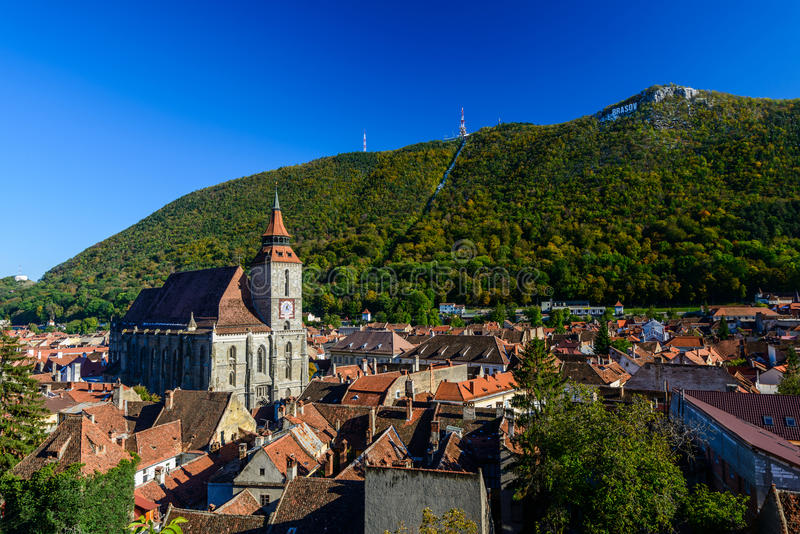 Brasov, Румыния стоковая фотография rf