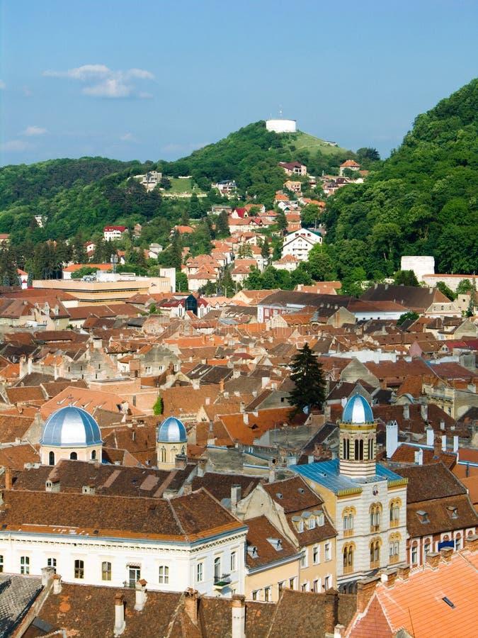 Brasov alte Mitte, Rumänien lizenzfreie stockbilder