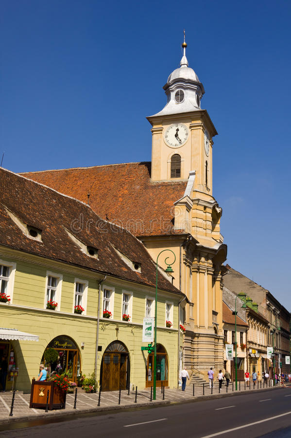 Download Brasov architecture editorial stock image. Image of touristic - 23353369
