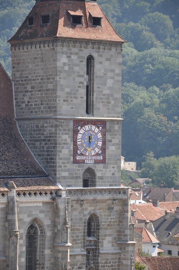 Brasov, Black Church royalty free stock photo