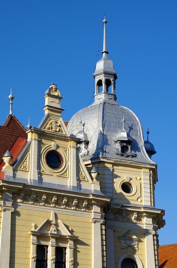 Brasov City Hall Tower Stock Photography