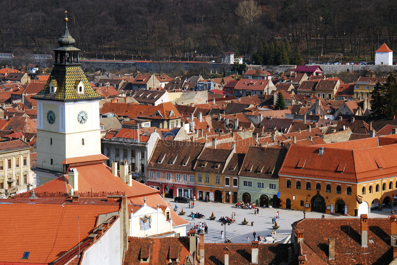 Download Brasov city, Romania stock photo. Image of aged, house - 8896760