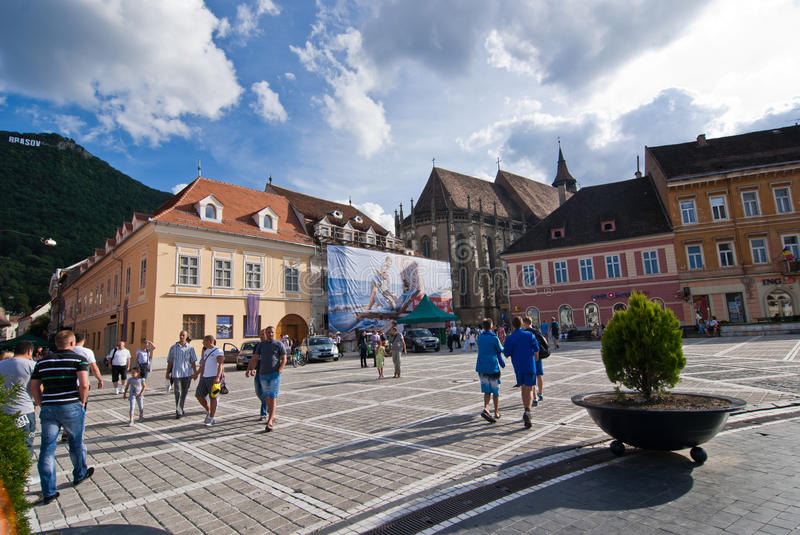 Download Brasov Council Square editorial photo. Image of square - 20877941