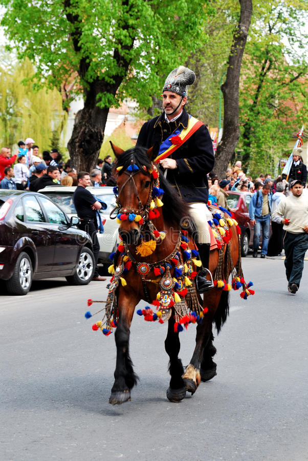 Brasov Junes Parade, may 2011 stock photography