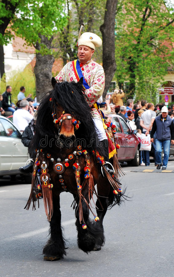 Brasov Junes Parade, may 2011, Romania stock photos