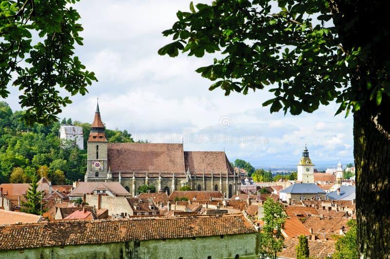 Brasov (kronstadt) stockfotografie