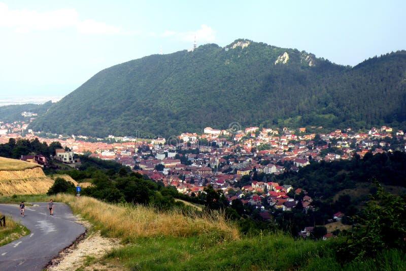 Brasov (Kronstadt), Transilvania, Ρουμανία στοκ εικόνα με δικαίωμα ελεύθερης χρήσης