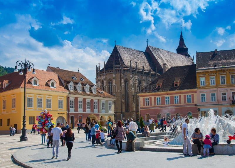 Brasov - la Transilvania, Romania fotografie stock