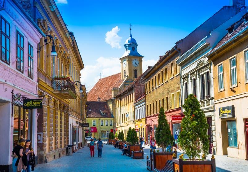 Brasov - la Transilvania, Romania immagini stock