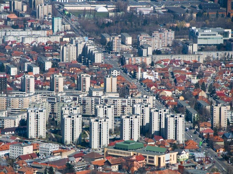Brasov neue Stadt (Transylvanien) lizenzfreie stockbilder