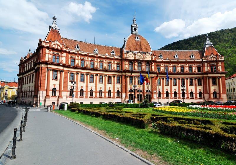 brasov okręg administracyjny rządowy Romania Transylvania fotografia stock