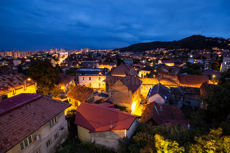 Brasov overview royalty free stock image