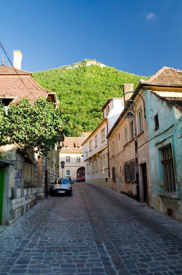 Brasov, Roemenië stock foto