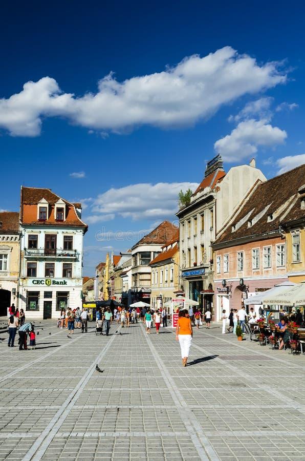 Brasov, Roemenië stock foto's