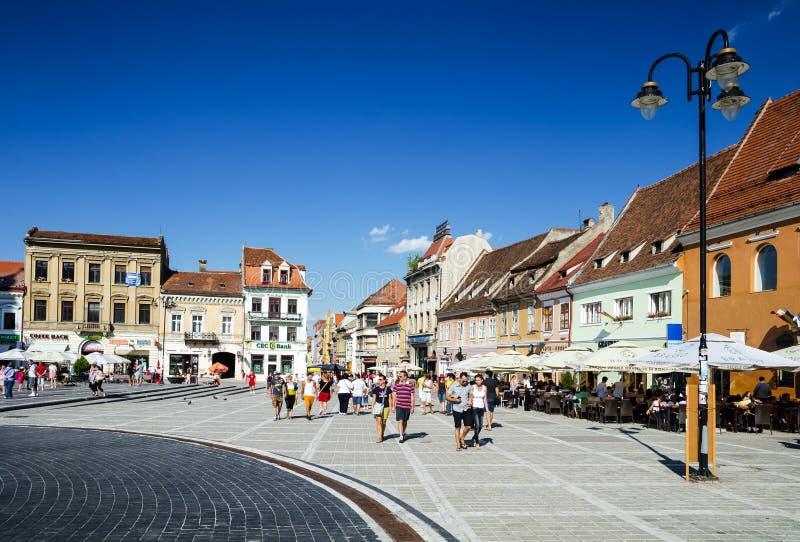 Brasov, Roemenië stock fotografie