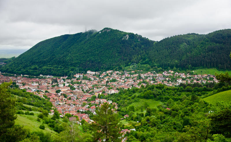 Brasov Roumanie photo stock