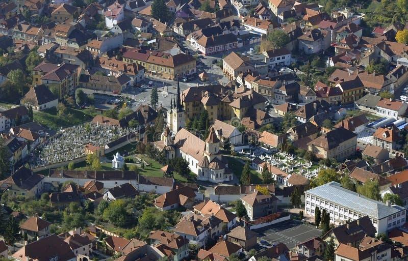 Download Brasov stadsmitt, Rumänien arkivfoto. Bild av mitt, kyrka - 27280682