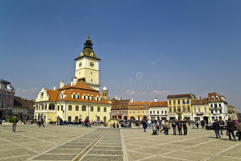 Download Brasov Town Square editorial image. Image of center, construct - 24011775