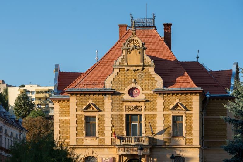 BRASOV TRANSYLVANIA/ROMANIA - SEPTEMBER 20: Sikt av traditen royaltyfria foton