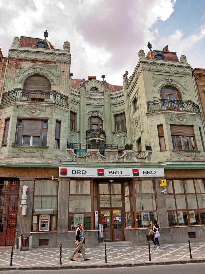 Brasov - vecchia costruzione immagini stock libere da diritti