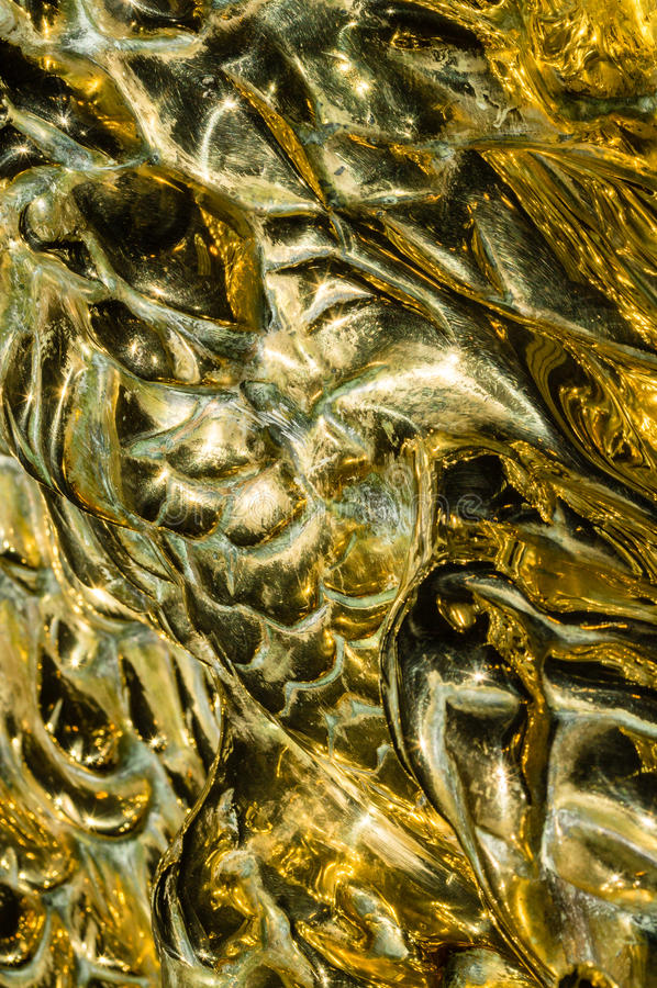 Brass Abstract royalty free stock photos