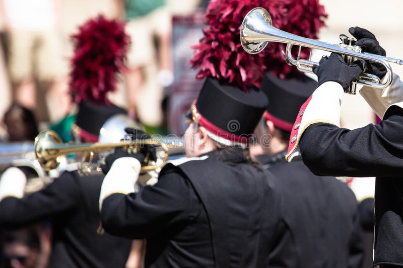 Download Brass band parade stock photo. Image of melody, concert - 40038280