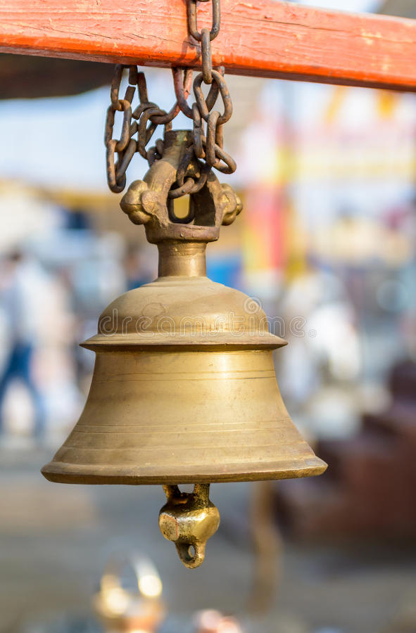 Hindu Temple Bell Stock Photos - Download 779 Royalty Free