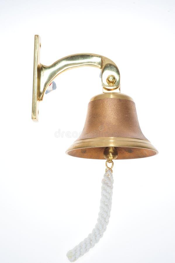 Brass Door Bell stock photography