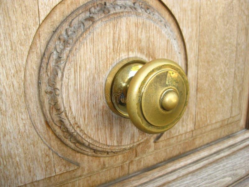 brass-door-knob royalty free stock image