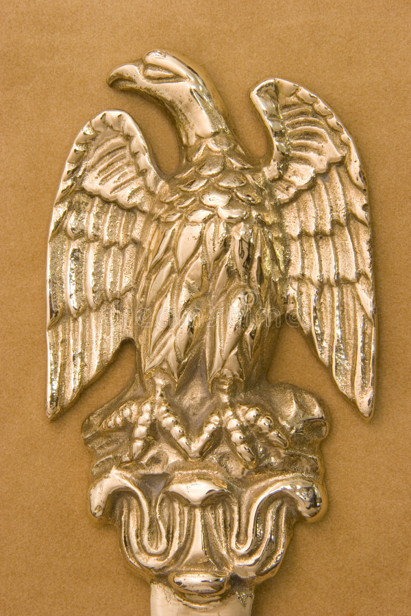 Brass Eagle royalty free stock photo