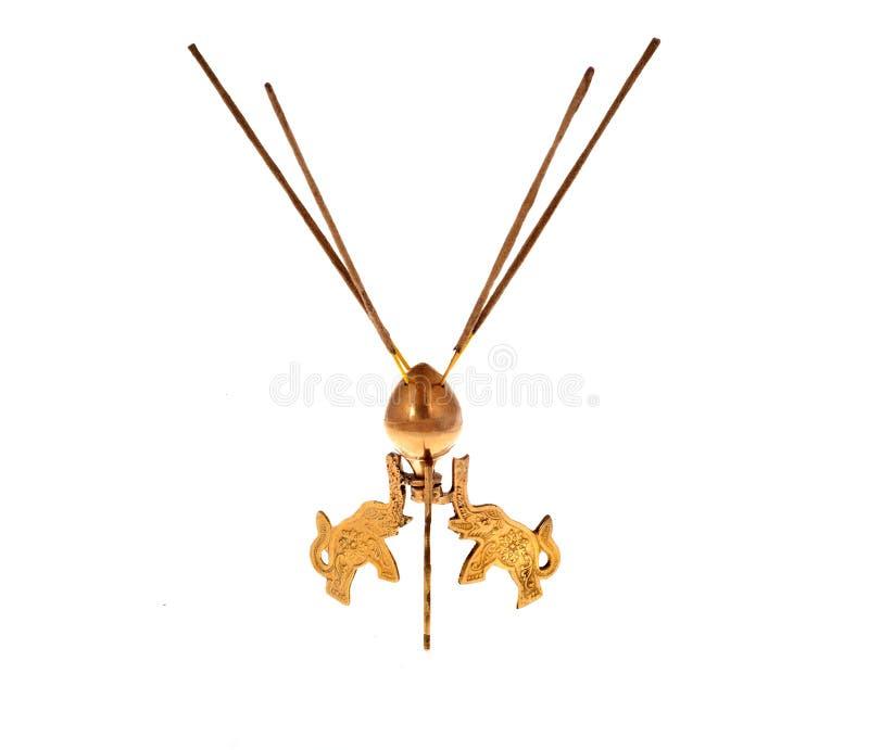 Brass Incense burner royalty free stock photo