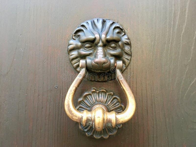 Brass, Metal, Door Knocker royalty free stock photo