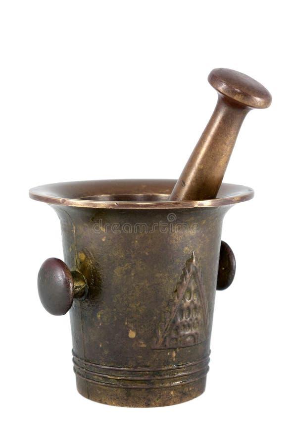 Free Brass Mortar Royalty Free Stock Photo - 14342025