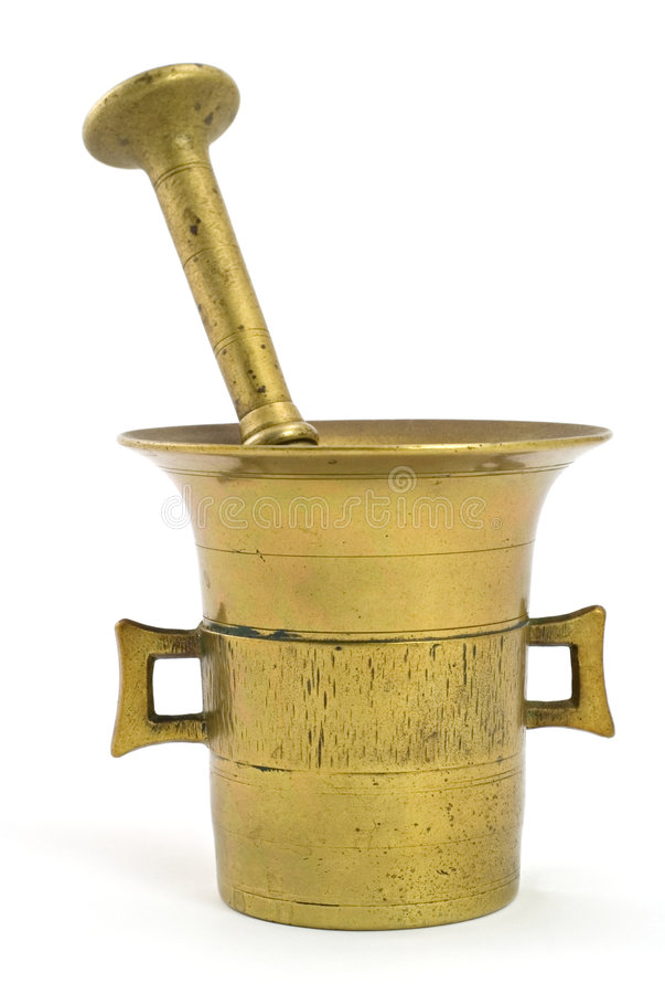 Free Brass Mortar Stock Photos - 7286283