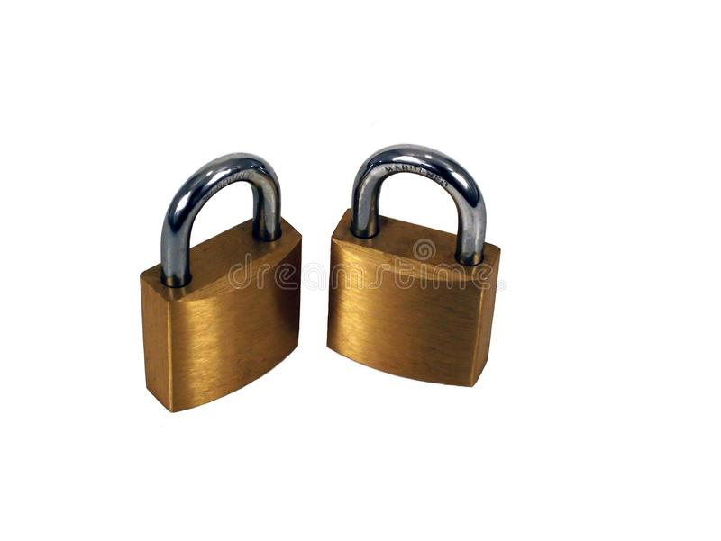 Download Brass Padlocks stock photo. Image of padlocks, brass, security - 66814