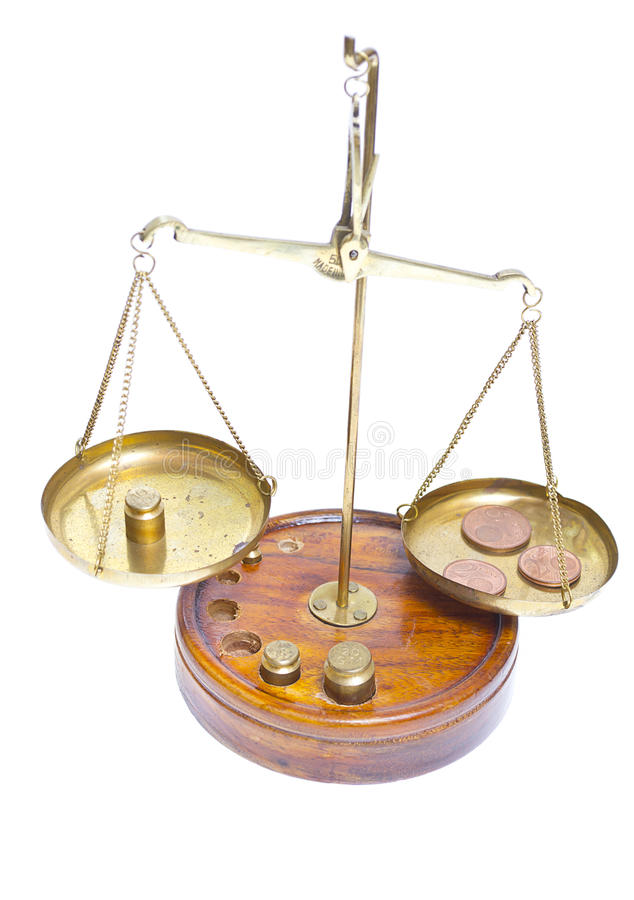 Brass scales of justice. See my other works in portfolio stock photography