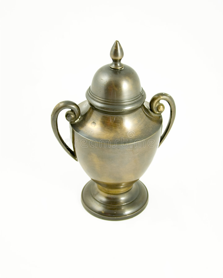 Brass Urn #1 royalty free stock image